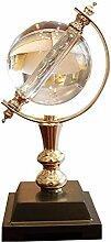NXYJD Cristal Rotating Globe Ornement, Nouveau