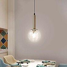 NZDY Boule de Verre Led Pendentif Lampe Luminaires