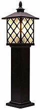 NZDY E27 Lawn Light Classic Art Pillar Light