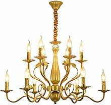 NZDY Éclairage de lustre à la maison Lumière de