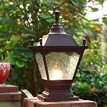 NZDY Éclairage de Support Lampes de Poteau
