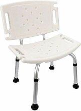 NZDY Home Essentials, Chaise de Tabouret de Douche