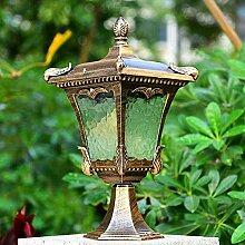 NZDY Lampadaire Extérieur Lanterne de Poteau