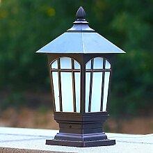 NZDY Lampadaire Extérieur Maison Moderne Lampes