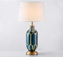 NZDY Lampe de Bureau Américain Style Simple Motif