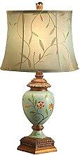 NZDY Lampe de Bureau Décoratif Résine Tissu