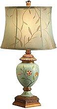 NZDY Lampe de Bureau Décorative En Céramique Lin