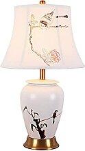 NZDY Lampe de Bureau Décorative En Céramique