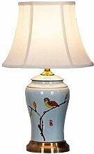 NZDY Lampe de Bureau Décorative Nouveau Chinois