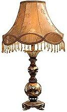 NZDY Lampe de Bureau Européenne Luxe Résine