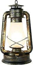 NZDY Lampe de Bureau Rétro Vintage Lampe American