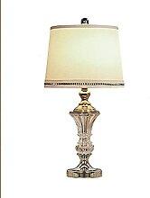 NZDY Lampe de Bureau Simple Style Moderne Cristal
