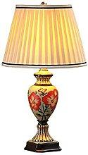 NZDY Lampe de Bureau Style Country Américain