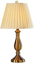 NZDY Lampe de Bureau Style Européen Fer Léger
