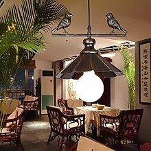 NZDY Lampe de Style Scandinave Plafonnier Pays