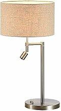 NZDY Lampe de Table de Chevet E27 Pour Les Yeux,