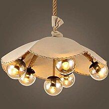 NZDY Lampes À Suspension Industrielles En Corde