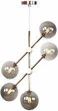 NZDY Lampes de Lustre Nordique Rose Pendentif