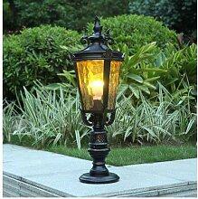 NZDY Lampes de Poteau Extérieures, Lampadaire