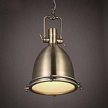 NZDY Pendentif En Fer Peint Éclairage Lampe