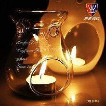 O.RoseLif romantique verre aromathérapie huile