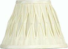 Oaks Lighting Sutlej Abat-jour conique plissé en