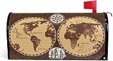 Oarencol Grande boîte aux Lettres magnétique