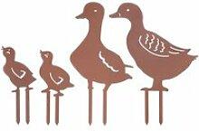 OBJET DECORATIF-Décoration de jardin canard