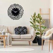 objet decoratif Horloge islamique en métal - Art
