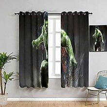 Occulte la pièce avec des rideaux Hulk -