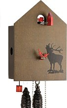 OD13H-9 Horloge à coucou mécanique en bois