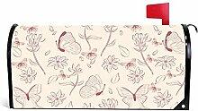Odeletqweenry Couverture de boîte aux lettres de