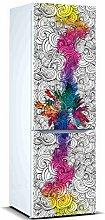 Oedim Vinyle pour réfrigérateur coloré 185 x 70