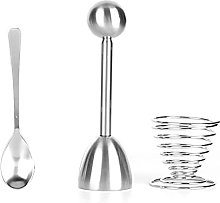 Oeuf Topper Cracker, Coupe-Oeufs Topper Set Outils