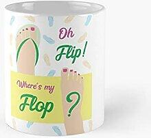 Oh Flip Where's My Flop Beach Wall Art Fair