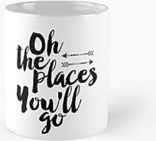 Oh The Places You'll Goprintable Quote