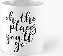 Oh The Places You Will Go Wall Art Children's