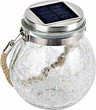 OhhGo Lampe solaire à suspendre en forme de boule