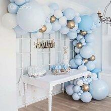 Ohoho – Kit de ballons en arc bleu Pastel