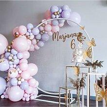 Ohoho – Kit de ballons Macaron Pastel en arc,