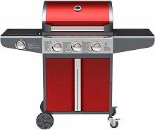 OKLAHOMA- Barbecue à gaz 3 brûleurs plus 1