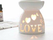 Okssud Lampe parfumée nocturne pour brûleur à