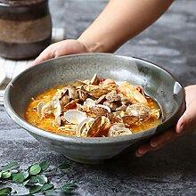 okuya 10.6inch Soupe en céramique Bol de style