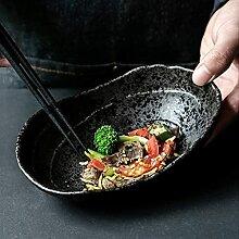okuya Bols Plaque de céramique de style japonais