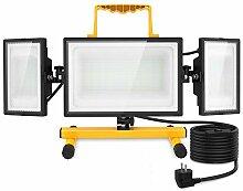 Olafus 80W Projecteur Chantier LED, Lampe de