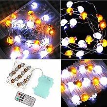 Omabeta 30 pièces LED télécommande décoration