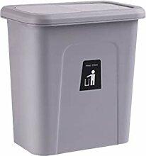 OMING Bacs à ordures Poubelle de Cuisine Porte de