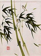 Ommda Noren Rideau Chinois Japonais Fleur