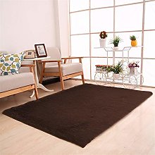 Ommda Tapis Salon Design Moderne Poil Long Lavable