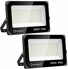 Onforu Lot de 2 Projecteur LED Éxterieur 200W,